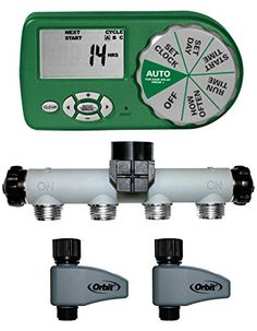 Orbit Underground 58911 Automatic Yard Watering Kit >  Fully Automatic Yard Watering Kit, Turns Your Hose Faucet Into A 4 Station Sprinkler System, No Digging Is Required To Easily Install This Watering System, Connects To Standard Hose Faucet T... Check more at http://farmgardensuperstore.com/product/orbit-underground-58911-automatic-yard-watering-kit/