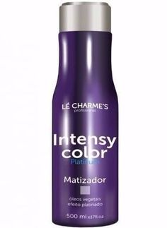 Matizador Intensy Color Platinado Le Charmes 500ml