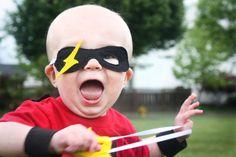 DIY Halloween Costume : DIY Superhero or Superman Masks DIY Halloween
