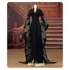 Titanic Black Kimono Dressing Gown Outfit
