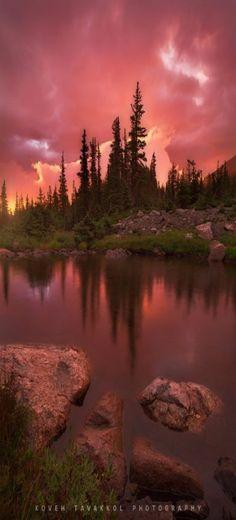 Lake Bierstadt, Rocky Mountain National Park, Colorado