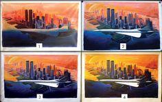Réalisation acrylique sur toile 160 X 110