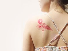 Hey, I found this really awesome Etsy listing at http://www.etsy.com/es/listing/155957567/flamingo-temporary-tattoo