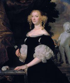 Portrait of a woman, Abraham Lambertz van den Tempel, 1670