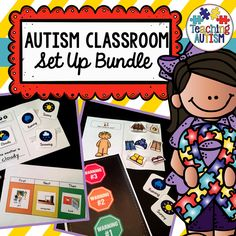 This is a bundle of resources that will be great to help you set up your new autism / special education classroom or just to update it and introduce some new strategies. Each resource comes with instructions so you are able to implement them and use them in the best possible way in your classroom!   We use these within our classroom every year and they work wonders with our students, so I am able to personally recommend you these resources and know that you will find them just as h