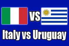 ITALY  0 - 1  URUGUAY (Full-Time) -2014 FIFA World Cup, Estadio das DunasNatal (BRA)24 Jun 2014 - Group Stage - Group D