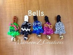 Rainbow Loom Christmas Bell Tutorial - Kerstklokje Nederlands