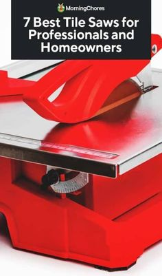 Are you looking for the best tile saws on the market? Then we are going to guide you on the best DIY tile saw that will help you to complete your project easily Concrete Tiles, Stone Tiles, Tabletop Saw, Cabinet Trim, Insulation Board, Tile Saw, Roll Cage, Diy House Projects, Home Repair
