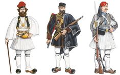 Did you know the history of foustanella? Worn by the emblematic Greek Evzones, the foustanella has come to be understood as a symbol of valiance, bravery and resistance. Hellenic Army, Army Uniform, Military Uniforms, Greek Warrior, Military Dresses, In Ancient Times, Dieselpunk, Eastern Europe, Military History