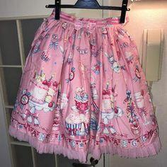 Angelic Pretty (Angelic Pretty) Angelic Pretty Mary Making Party SK Women's Skirt (Knee Length Skirt) Product Photo