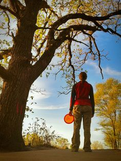 Fall... disc golf at its best