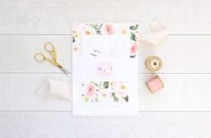 Bello Paperie Wedding Stationery Suite
