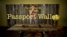 Protection While Traveling | Saddleback Leather Passport Wallet | 100 Year Warranty | $70.00