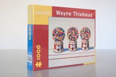 The last of the Wayne Thiebaud jigsaw puzzles are at the Museum Store. Once they're gone, they're gone! Great holiday or hostess gift.