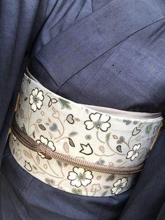 今日は仁平幸春さんの着物と帯で・・(^^♪ の画像|きもの 睦月