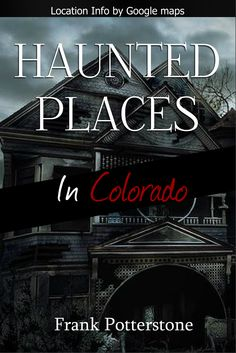 Haunted Places in Colorado, is a book written, for anyone who lives in Colorado, and would like to try and break into the thrilling field of ghost hunting.This book takes away, all the painstaking research on some of the most haunted places in Colorado, perfect for any newbie or professional who doesn't have the time to do all the necessary leg work before an investigation.