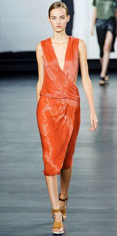 Runway Looks We Love: New York Fashion Week - Spring/Summer 2015 from #InStyle - Jason Wu