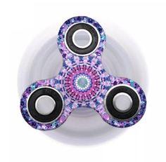 Mandala Pink Flower Power Fidget Spinner
