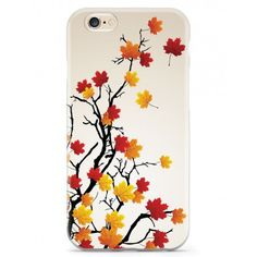 Give your iPhone 6 & 6s cell phone a unique style all its own. This Autumn Leaves on Branches Case was professionally created and printed in the United States for anyone who loves autumn! Textured printing raises parts of the images, creating a unique feel like no other case.  The case features high-quality, original design and images that not only set you apart, but keep your device protected - making it the perfect iPhone 6 & 6s accessory!