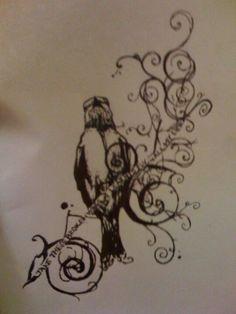 Blackbird tattoo. I'm most definitely getting that. :)