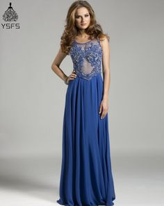 Beaded Sparkly Sexy Long Elegant Prom Dresses Long with Crystal Women  vestidos de formatura ballkleider-in Prom Dresses from Weddings   Events on  ... 40dc6774fb1a