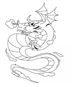 41 Best Dragon Coloring For Kids Images In 2019