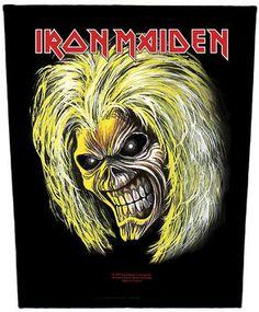 Iron Maiden Eddie Pictures All | Iron Maiden - Eddie (Band Back Patch) - £6.00 - t-shirtzone.co.uk
