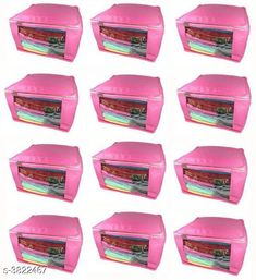 Apparel Storage  Home Stylish Trendy Non-Woven Saree Covers   (Pack Of 12) Material: Non Woven Size (L X W X H) : 35 Cm x 40 Cm x 22 Cm Closure: Zip Description: It Has 12 Pieces of Designer Storage Bags Country of Origin: India Sizes Available: Free Size   Catalog Rating: ★4 (268)  Catalog Name: Dream Home Stylish Trendy Non-Woven Saree Covers Vol 17 CatalogID_536459 C131-SC1628 Code: 724-3822467-8601