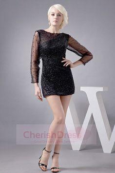 Little Black Dresses Short Dresses, Formal Dresses, Trending Topics, Scoop Neck, Popular, Long Sleeve, Sleeves, Shopping, Color