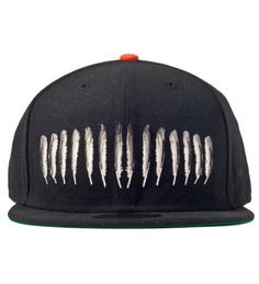 Black Scale Black Feather King New Era Cap