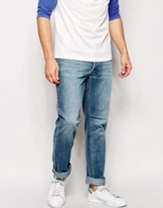 Jeans by Cheap Monday Non-stretch denim Light wash Concealed button fly Five pocket styling Slim fit - cut closely to the body Machine wash Cotton, Polyester Our model wears a regular and is tall Cheap Monday Jeans, Slim, Models, Mannequin, Stretch Denim, Asos Uk, Skinny Jeans, Mens Fashion, Pants