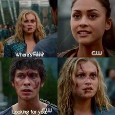 Why does she even care about Finn? I'm glad she realizes he's psychopathic though when he looses his mind and kills all those people for no freakin reason! That moment reeeaallly solidified my hatred for him.