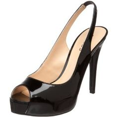GUESS Women's Aero4 Slingback Pump,Black Synthetic,8.5 M US (Apparel)  http://documentaries.me.uk/other.php?p=B00438AQPY  B00438AQPY