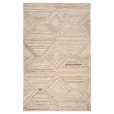 Geometric/Solid Runner - Tan - (2'6X8' Runner) - Rizzy Home