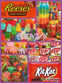 My candy collage