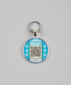 The QR code links the pet's name and the owner's phone number - when scanned, a notification is sent automatically to let the owner know when and where their pet was found. PetHub on #zulily.