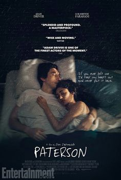 New poster for 'Paterson' (13.09.16)