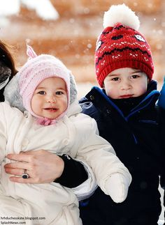 Duchess Kate: Adorable Photos Released of the Cambridges' Ski Holiday