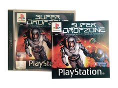 PS1 - Super Dropzone    Playstation I www.detoyboys.nl