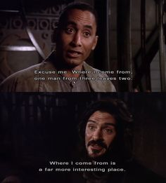 Babylon 5 3x7 - Where I come from is a farm more interesting place. - Marcus had some excellent lines
