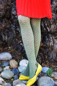 Zig Zag Fashion Tights