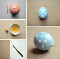 Tutorial de Artesanías: Huevos de Pascua pintados
