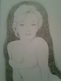 Marilyn 2 by Laura 2013 My Arts, Female