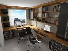 Resultado de imagem para escritórios em casa dois