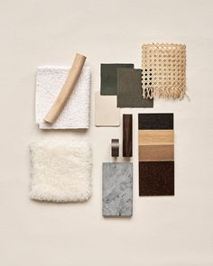 """NORR11 on Instagram: """"Textures of NORR11   #norr11 #moodboard #texture #kvadrat #sorensenleather #scandiloc #rattan #interior #interiordesign #design…"""" Interior Design Instagram, Fabric Painting, Rattan, Color Schemes, Texture, Photo And Video, Mood Boards, Videos, Showroom"""