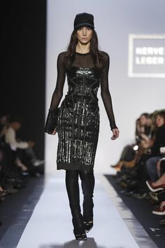 Honeybells: New York Fashion Week AW 2013/2014- Herve Leger by Max Azria