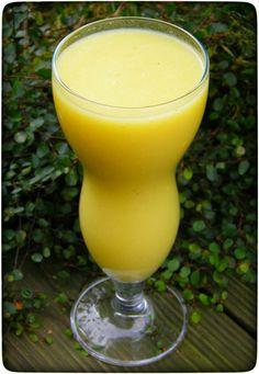 Mango-Ingwer-Birnen-Smoothie