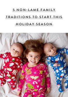 5 Non-Lame Family Traditions to Start This Holiday Season via @PureWow
