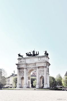 Arco della Pace, Milan | Photo by Matthijs Kok