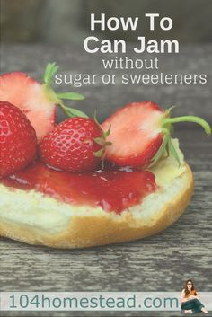 1 to 1. That's the average ratio of fruit to sugar in most jam recipes. Can you make a delicious jam without sugar or sweetener? Why yes you can! No honey and no sugar substitute recipes. Just good berry goodness.